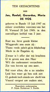 vos de jan bk 1947-1949